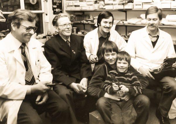 Familie Wirz 1983